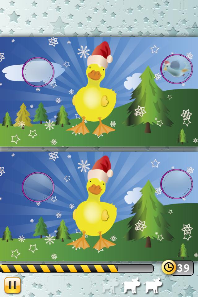 《圣诞动物找不同》1